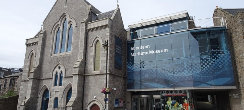 Photo of Aberdeen Maritime Museum.