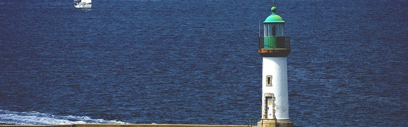 Photo of a lighthouse.