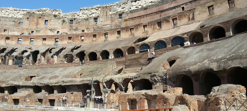 Photo of The Colosseum.