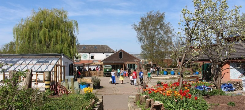 Photo of Windmill Hill City Farm.