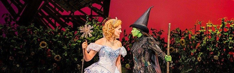 Photo of a performance of Wicked.
