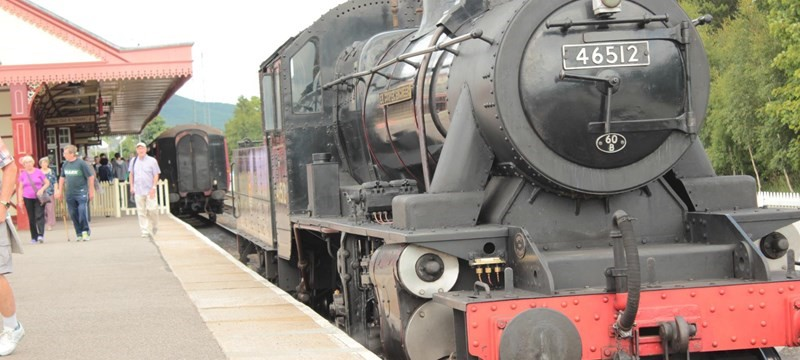 Photo of Strathspey Railway.