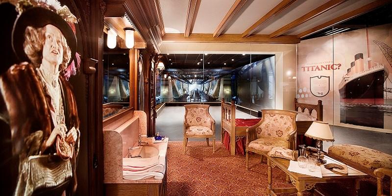 Titanic Belfast interior.