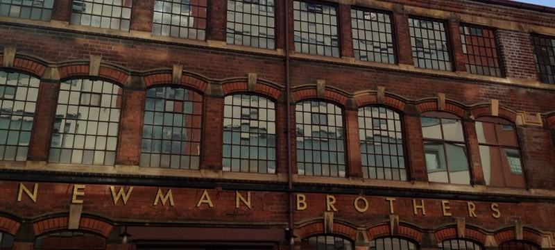 Newman Brothers Coffin Works.