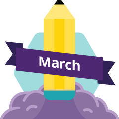 Reviewer of Month March Badge