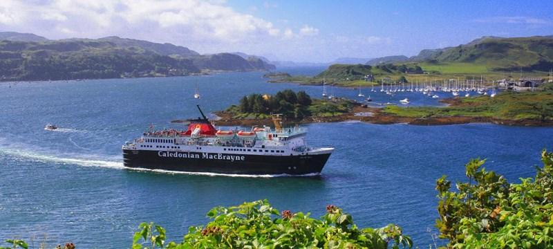 MV Isle of Mull Ferry.