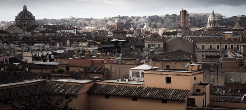 View across Rome.